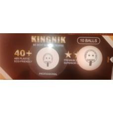 Мяч пластиковый Kingnik 2* 40+ ABS Premium